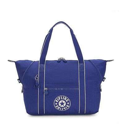 Kipling Large Travel Bag ART M Shoulder Bag LASER BLUE SS20 RRP £93