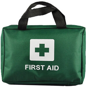 a832412b8c06 90 PIECE FIRST AID KIT BAG MEDICAL EMERGENCY KIT. TRAVEL HOME CAR TAXI  WORKPLACE