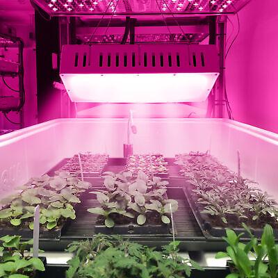 1500W Full Spectrum Plant LED Grow Light for Plant Veg w/Ultra-quiet Dual Fan