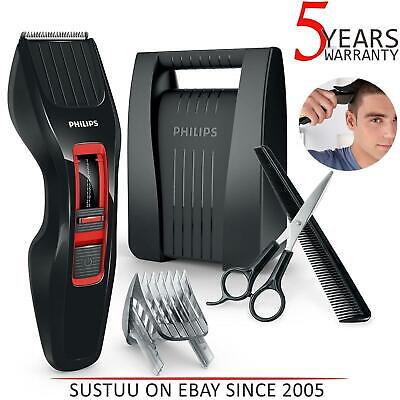 Philips HC3420 Series 3000 Hair Clipper Trimmer│Dual Self Sharpening Steel Blade