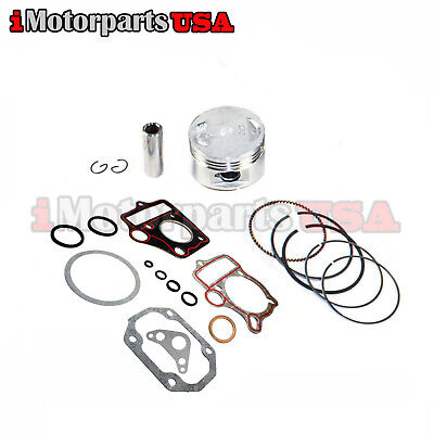 STD PISTON RINGS & GASKET SET FOR HONDA Z50R CRF50 XR50 50CC TRAIL DIRT BIKE NEW ()