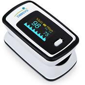 Innovo Deluxe Fingertip Pulse Oximeter Blood Oxygen Monitor Heart Rate Meter