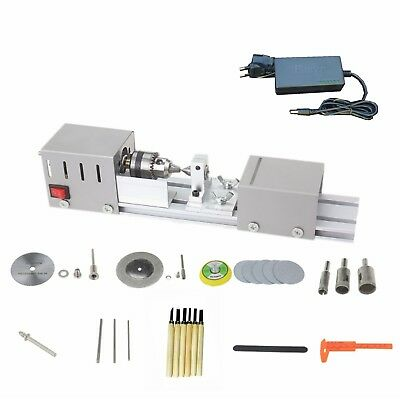 Diy Multifunction Wood Mini Lathe Machine Polisher Table Power Supply Sander Saw