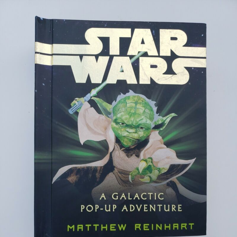 Star Wars: A Galactic Pop Up Adventure (w/glowing lightsaber)