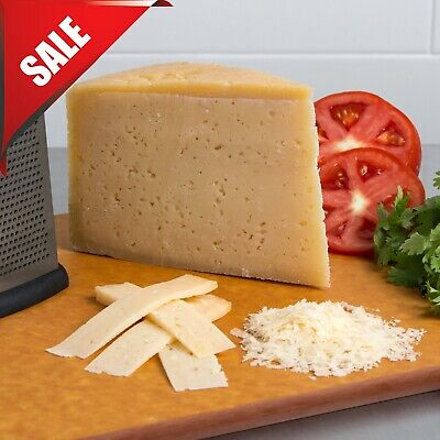 10 lb. Parmesan Cheese Half Wheel Restaurant Cafe Dairy Pasta Dish Supply Block