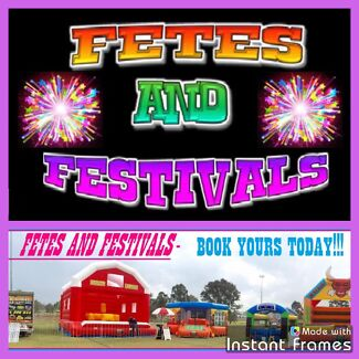 FETES, FESTIVALS, FUN DAY AMUSEMENT HIRE!
