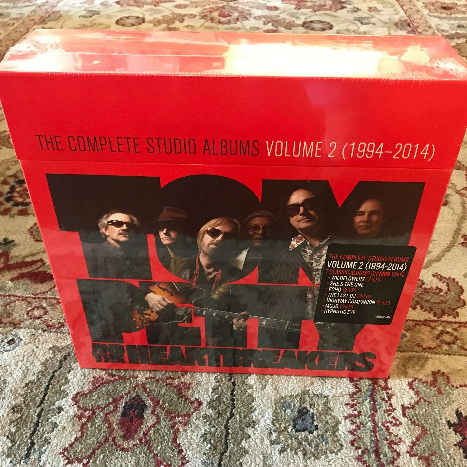 Купить Tom Petty & The Heartbreakers - Complete Studio Albums Vol 2 - 12 LP - SEALED