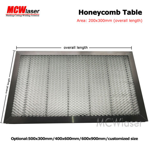 Honeycomb Table for CO2 Laser Engraver Cutting Machine 30x20cm Galvanized Iron