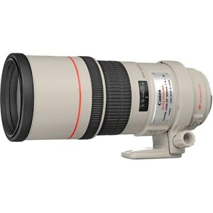 Canon EF 300mm f/4 L USM EF lens for 5D 6D 1D 7D 80D 77D