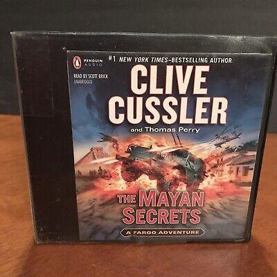 Clive Cussler CD Audio Book Set The Mayan Secrets A Fargo Adventure Thomas Perry