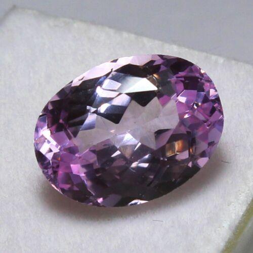 Natural 8.15 Ct Certified Unheated Brazil Pink Kunzite Loose Gemstones 14x10 mm