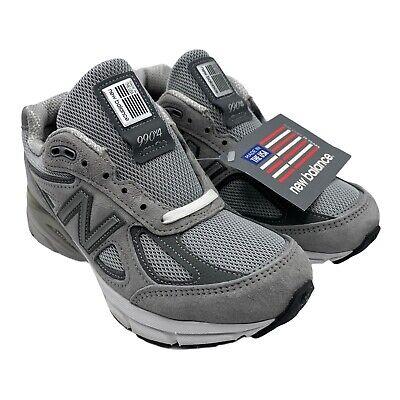 ⚫New Balance 990v4 Made In The USA Grey W990GL4 Women's Sz. 5...