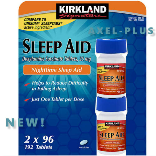 Kirkland Signature Sleep Aid, 192 Tablets