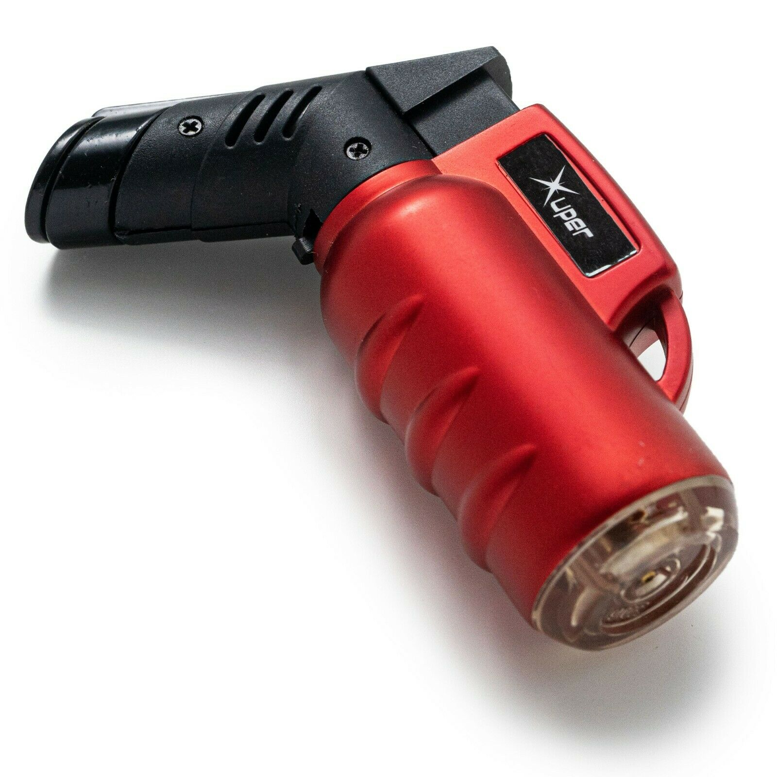 Xuper Metal Mini Jet Torch Lighter Safe Adjustable Flame Ref