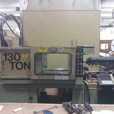 1994 Nissei FS120 Injection Molder, NC9000G, only 1500 hours