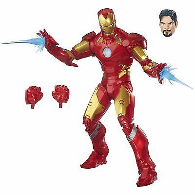Marvel Legends Series 30 Plus Articulation 12-inch Iron Man 4+ Years