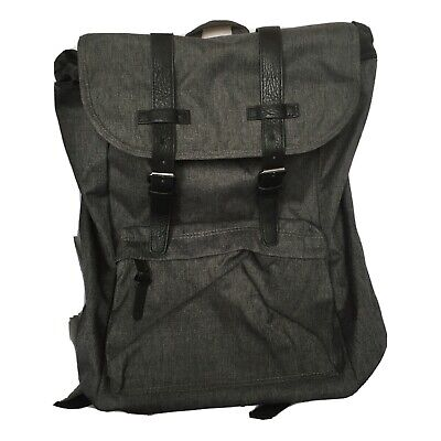Classic Gray Backpack Medium 20-25L Padded Curved Straps Gray Classic Backpack