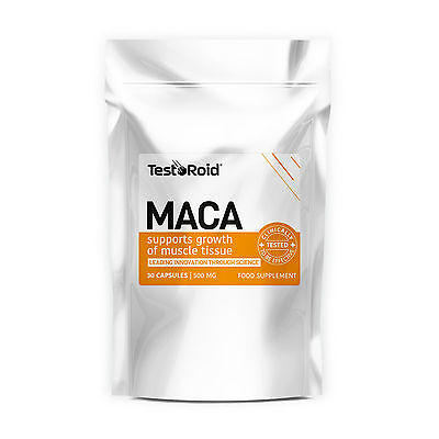 TestoRoid Maca Testosterone Booster Body Building Supplement Purest