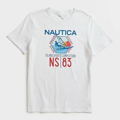 Nautica Mens Windsurfing Graphic T-Shirt