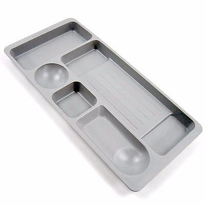 Min Desk Drawer Organizer Tray Pen Tray Office Stationery Desk Accessories Gray