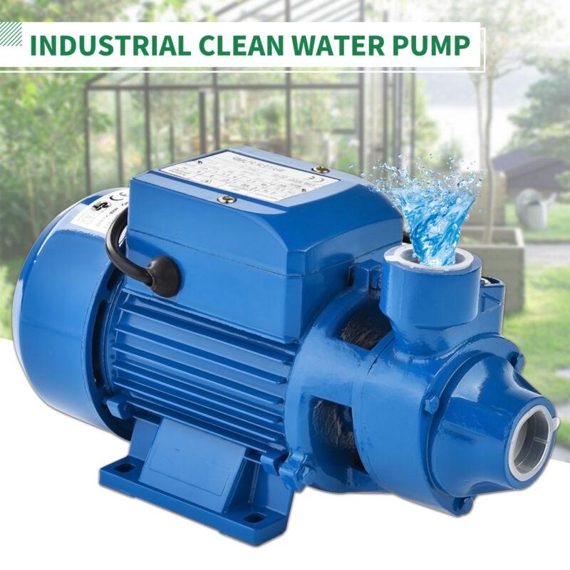 1HP Centrifugal Clean Clear Water Pump Electric Industrial Farm Pool Pond Pump