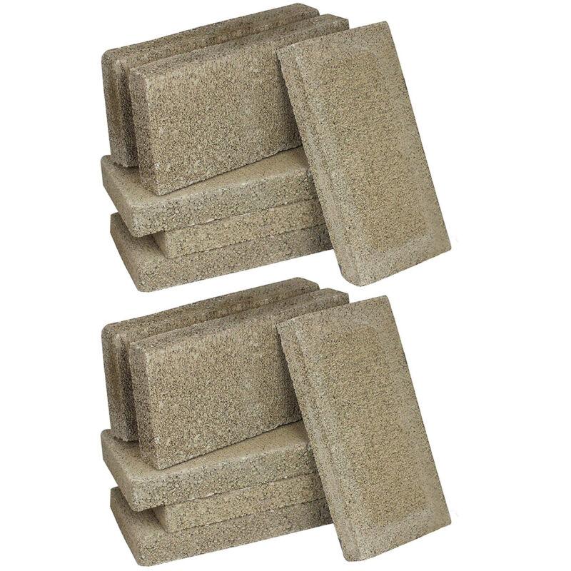 US Stove FireBrick 4.5 x 9 x 1.25 Inch Wood Stove Ceramic Fire Bricks (12 Pack)