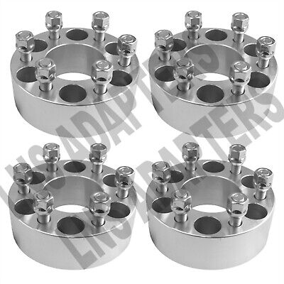 "4pcs 2"" HUBCENTRIC Wheel Spacers 6x4.5 50mm Adapters 