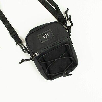 Vans Bail Shoulder Traveler Festival Tote Essentials Side Bag Brand New in Black
