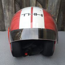 Red THH Open Face Scooter Helmet - Red Size XS 53-54cm Rozelle Leichhardt Area Preview