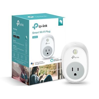 Kasa Smart Plug Outlet by TP-Link - Reliable WiFi Connection, No Hub Required,