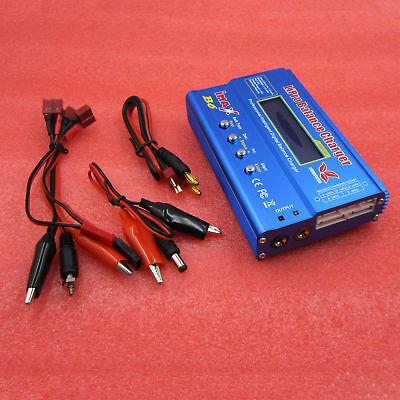 80W iMAX B6 LCD Screen RC Lipo/NiMh/Li-ion/Life Battery Balance Charger
