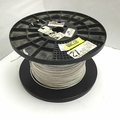 Silver Plated Copper Electrical Wire Length 800ft 12awg Rating 300v