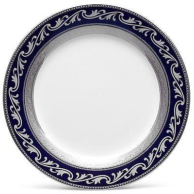 Noritake Crestwood Cobalt Platinum Accent Plates, Service for 4