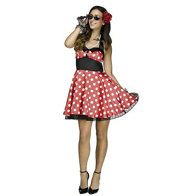 Womens 1950s Style Retro Pinup Sunglasses Gloves Necklace Halloween Costume Kit - 1950's Style Halloween Costumes