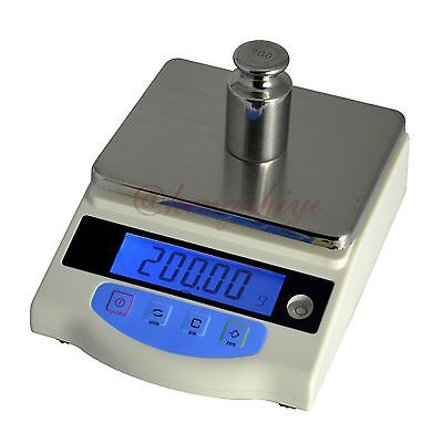 1kg x0.01g Electronic Lab Weighing Scale Balance w Germany HBM Sensor + Counting