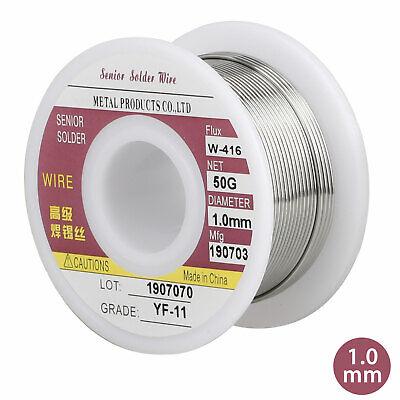 New Tin Lead 6040 Rosin Core Solder Flux Soldering Welding Iron Wire 1mm