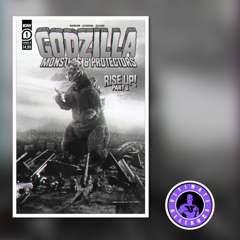 🔥🔥Godzilla Monsters and Protectors #1 NM Movie Poster Cover B