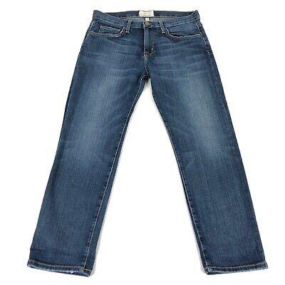 Aktuelle / Elliot Damen 25-0 Jeans der Freund Mittlere Waschung