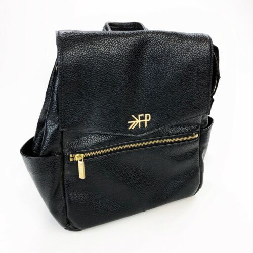 "Freshly Picked baby bag backpack kick starter original black 10"" X 12"" X 5"""