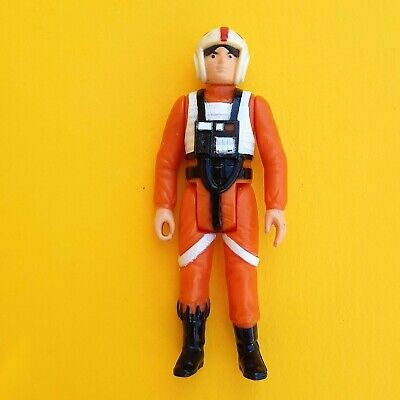 Vintage Star Wars Luke X-Wing Pilot GMFGI 1978 Raised Bar China Great Condition