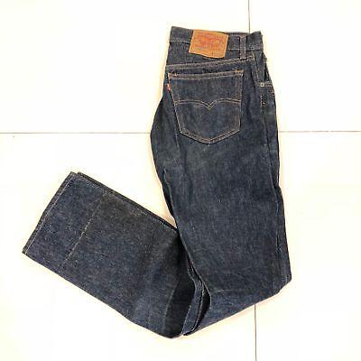 RARE Vintage 1980's Levi's 501 Denim USA Mens Straight Leg Jeans 32 X 36 EUC