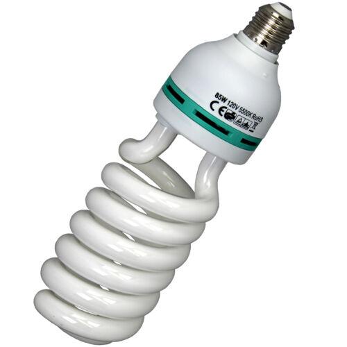 BLUEDOT 85 Watt Studio Light Bulb 5500K CFL Day Light, NEW, US SELLER FREE SHIP
