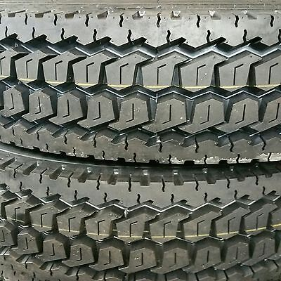 11r24.5 Drive Tires 4-tires New Heavy Duty Road Warrior 16 Ply Truck Tires