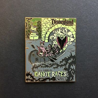 DLR - Canoe Races 2014 Maleficent & Goons Disney Pin 110584 - Maleficent Goons