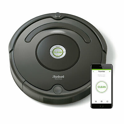 iRobot Roomba 676 Robotersauger Saugroboter Staubsauger schwarz