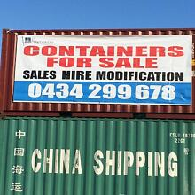 Shipping containers 10FT 20FT 40FT SALE ON NOW Melbourne CBD Melbourne City Preview