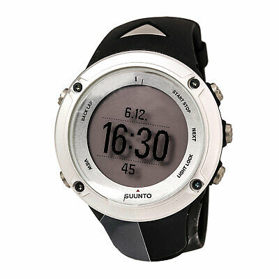 Suunto Men's Watch Ambit2 GPS Silver Tone Case Digital Grey Dial SS019650000
