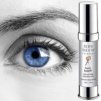 Strong Anti Wrinkle Eye Lift Cream, Matrixyl 3000, Hyaluronic Acid, Aloe Vit E