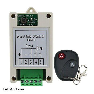 Generator 2 Ways Remote Start Stop Control Unit Genset Module Remote Controller