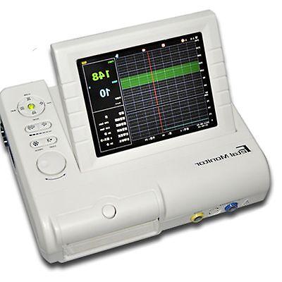 Clinic Fhr Toco Fetal Doppler Movement Baby Fetal Heart Fetal Monitor Usa Ups